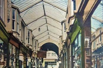 Dewsbury Arcade - early 20th century internal