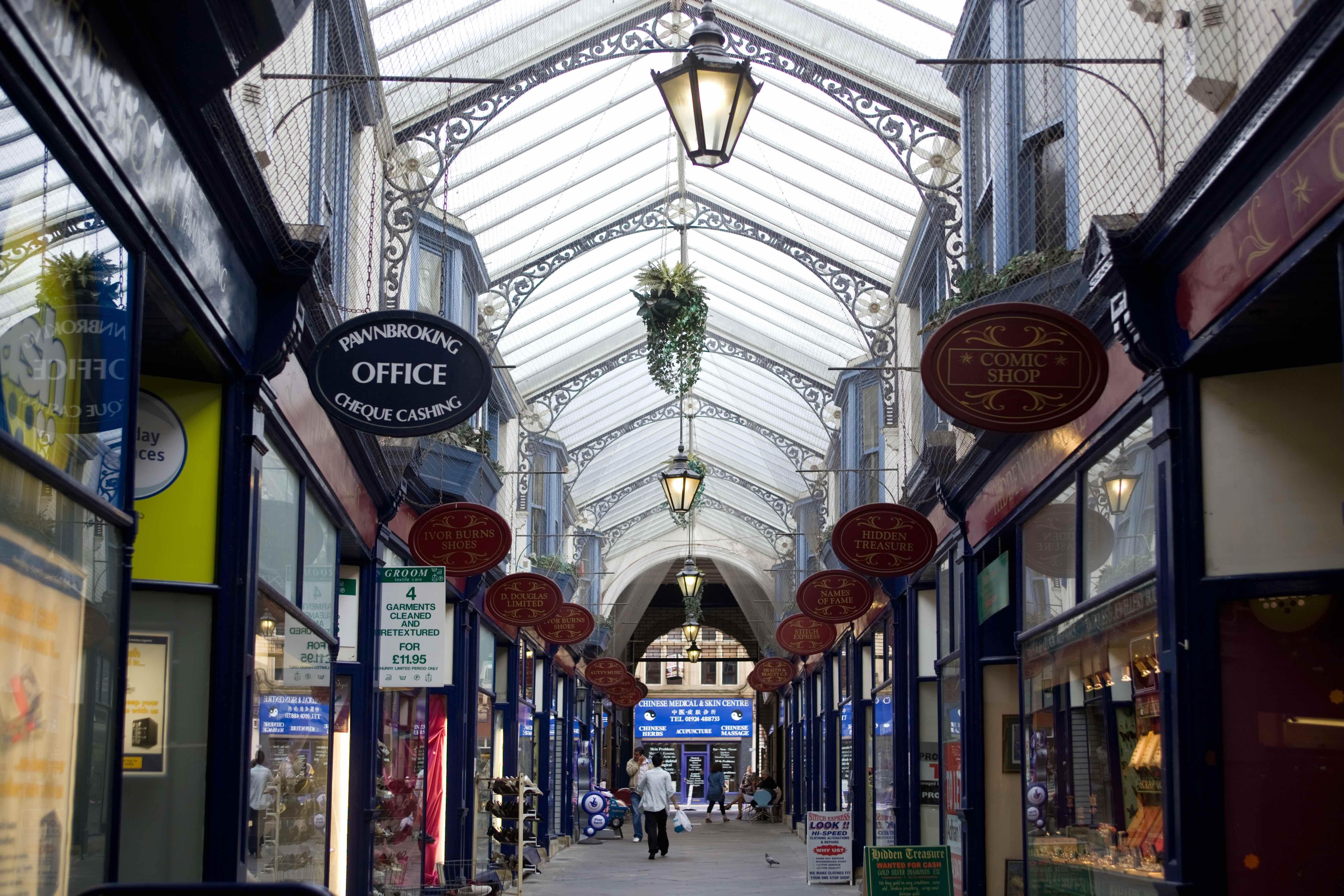 Dewsbury Arcade 2010