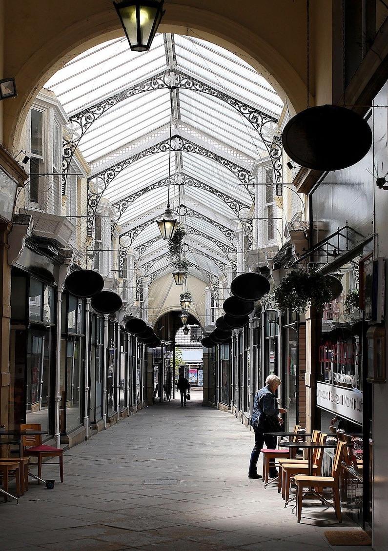 Dewsbury Arcade from the north