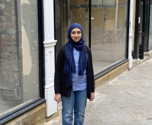 Hafsa-Farooqui thinking about opening an antique shop in the Arcade - June 21