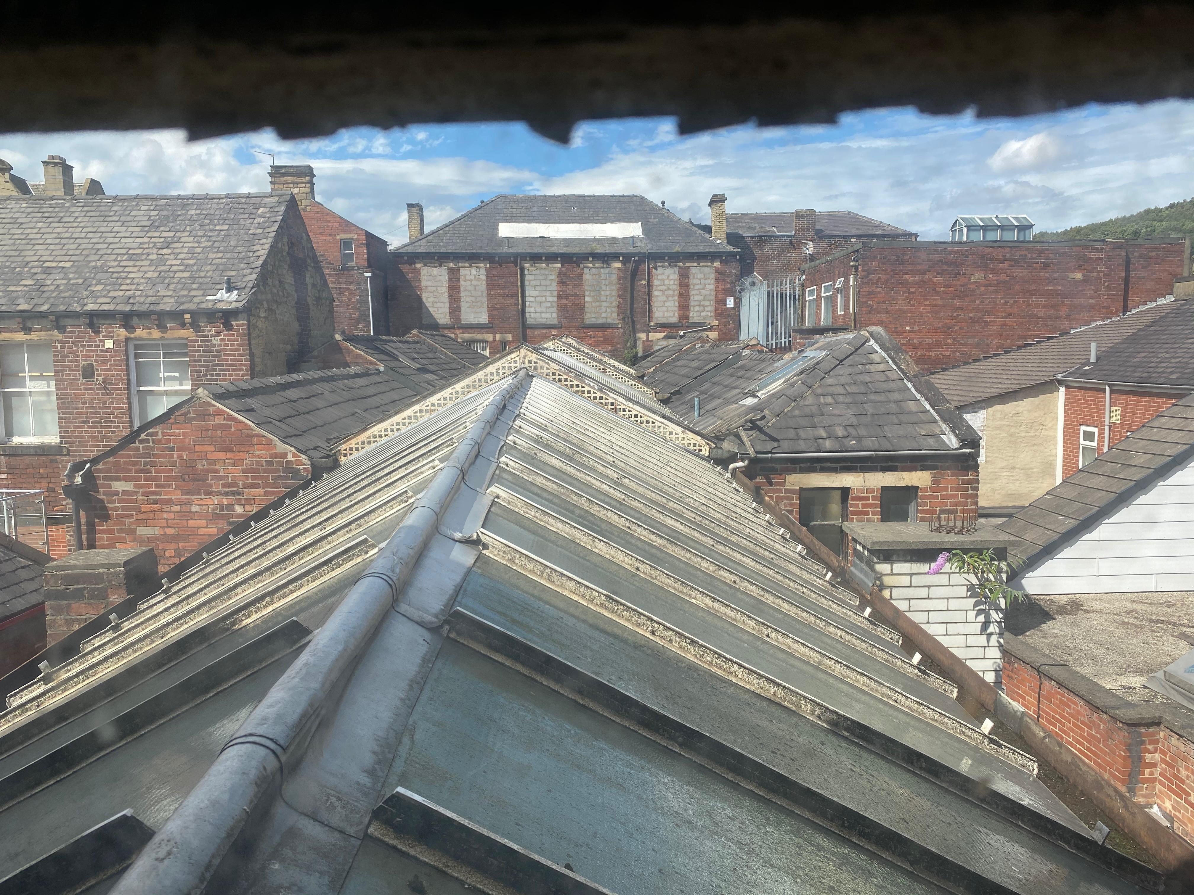 Roof of Dewsbury Arcade