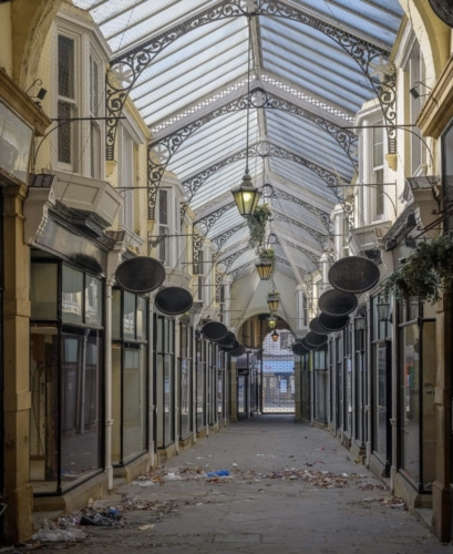Arcade 2019 - empty for three years